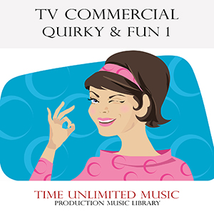 bgm素材集 tv commercial quirky and fun sonicwire