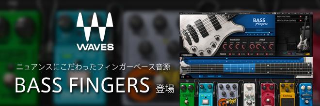 フィンガーベースのニュアンスを再現する5弦ベース音源