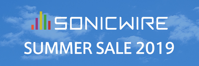 SONICWIRE SUMMER SALE 2019